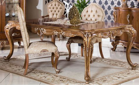 Carving dining set