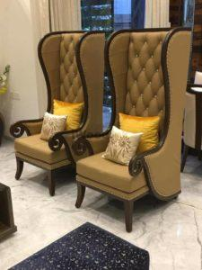 Bedroom Chair With Footrest In Karachi On Less Price